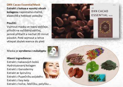 Letak Cacao maska+trpyt