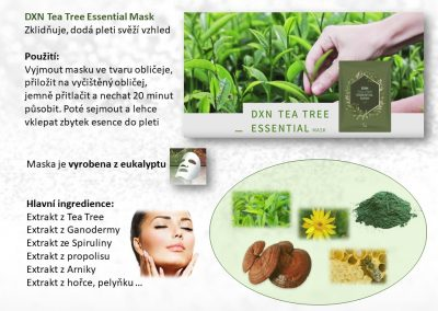 Letak Tea Tree maska+trpyt